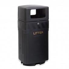 Werneth Lockable Hooded Litter Bin